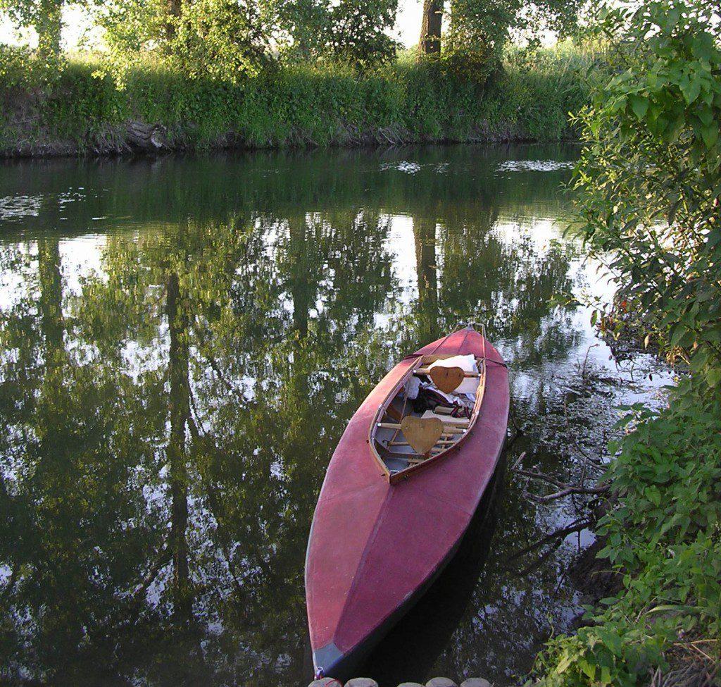 Mit dem Kanu entlang der Weinberge an Saale und Unstrut