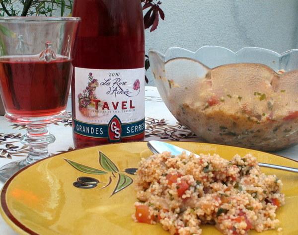 Tavel & Taboulé
