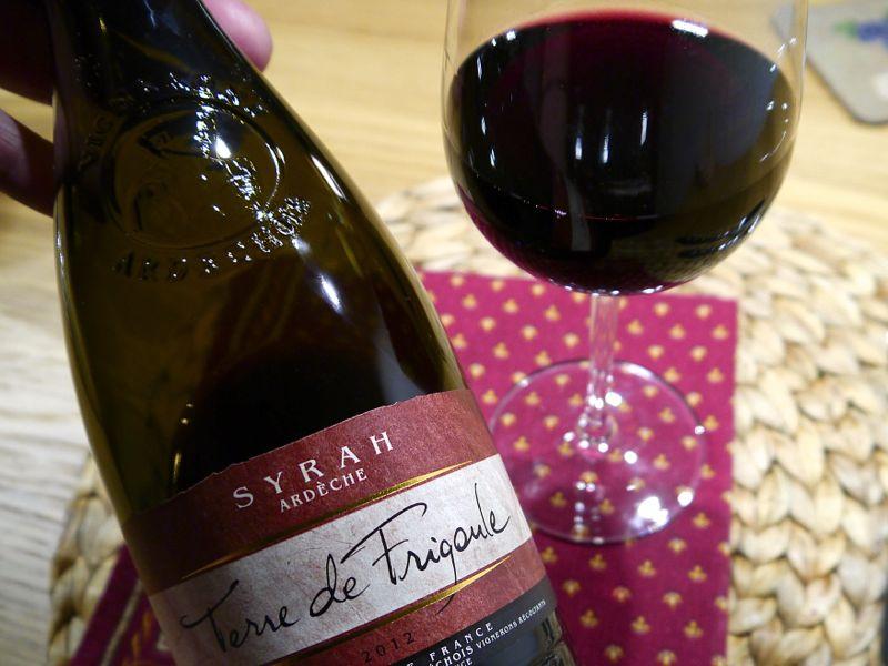 Ardeche-Rotwein Terre de Frigoule – günstig und superlecker
