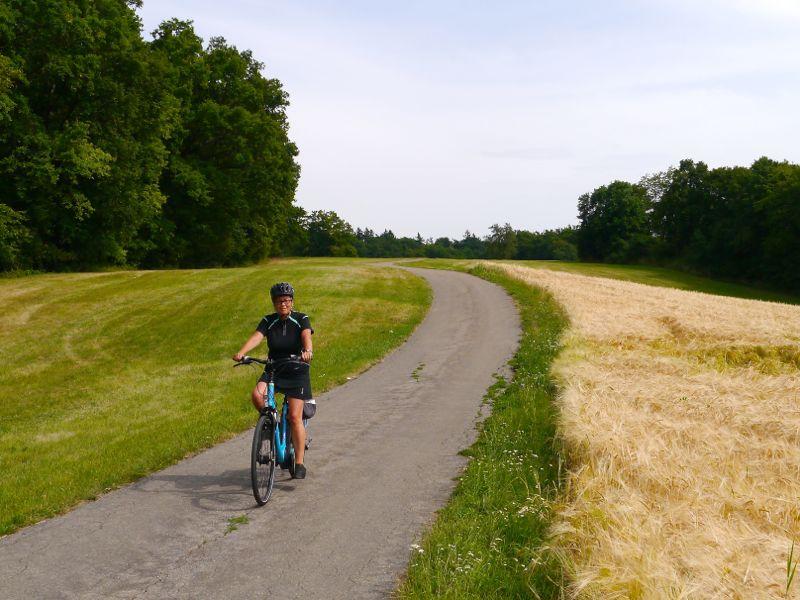 Radtour Schiefe Ebene