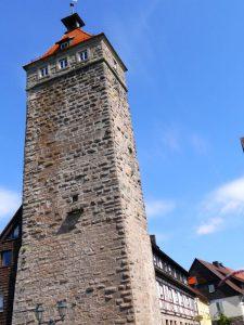 Hoch hinaus: Der Stauferturm in Waldenburg ist der höchste Punkt im Hohenlohe