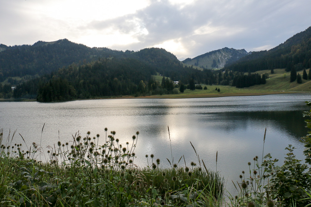 Spitzingsee am Abend