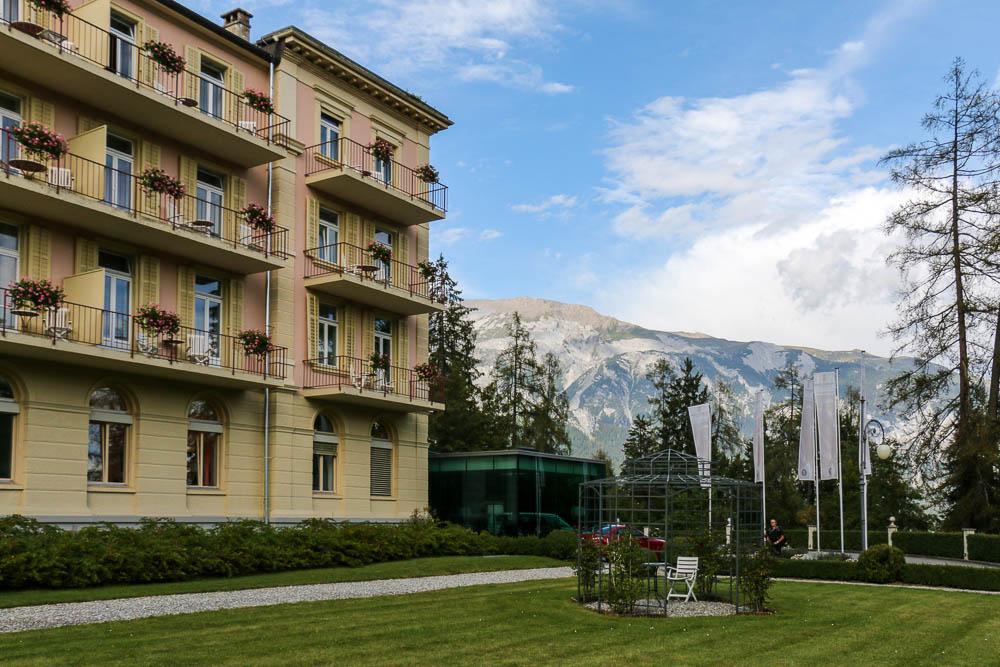 Luxus in den Bergen: Waldhaus Flims