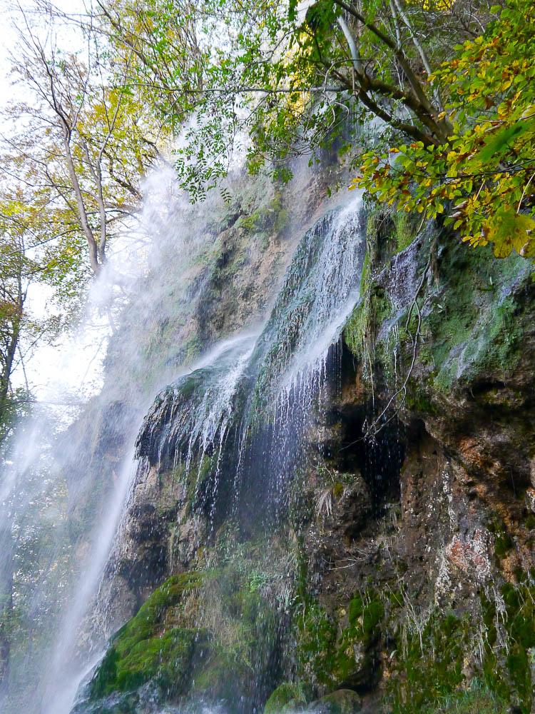 Wasserfallsteig Schwäbsiche Alb Bad Urach