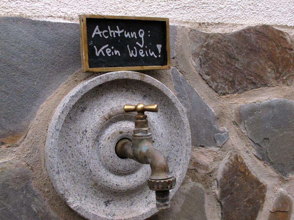 Nicht überall fließt Wein an der Mosel