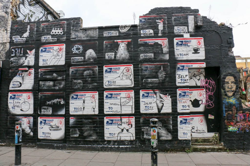 Brick Lane – Street Art in London