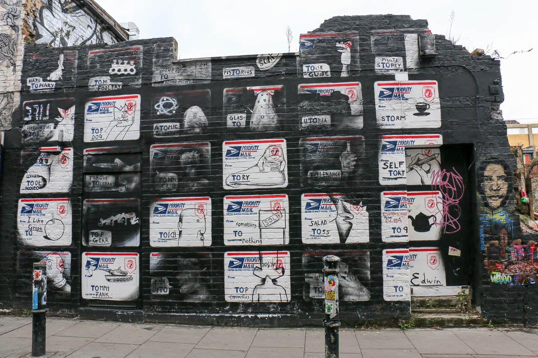 Street Art East End London
