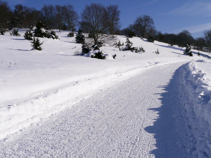 Wintermärchen Traufgang Schwäbische Alb