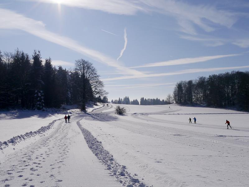 Winterwanderweg Traufgang Wintermärchen