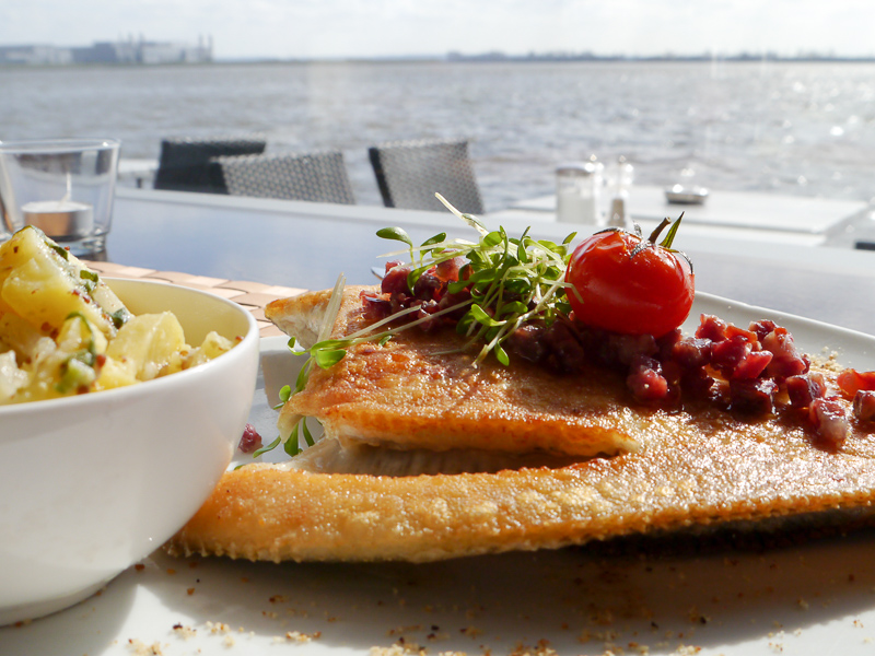 frische Fischküche in Hamburg Blankenese