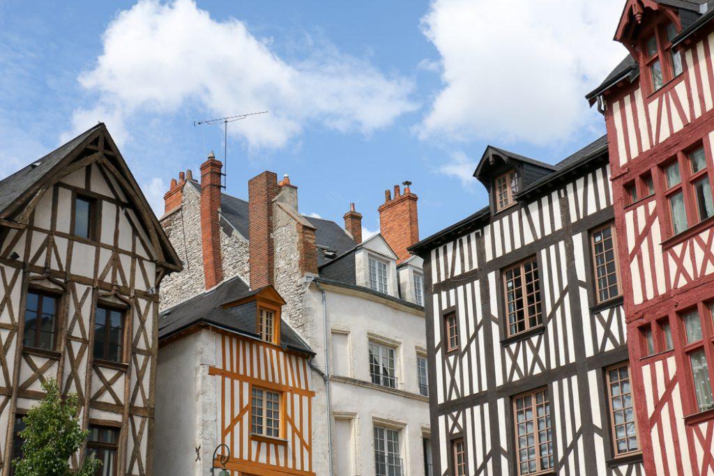 Orléans im Loiretal, eine der schönsten Städte Frankreichs