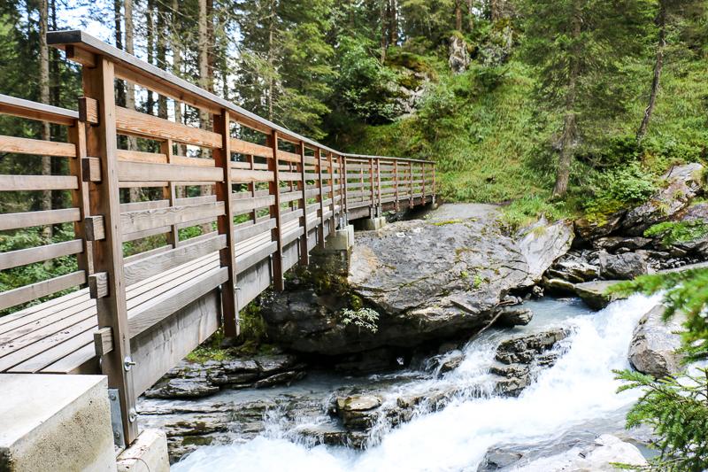 Punta-Brücke, Flims Wasserweg