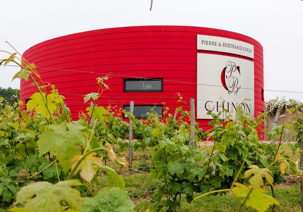 Das rote Ufo von Chinon