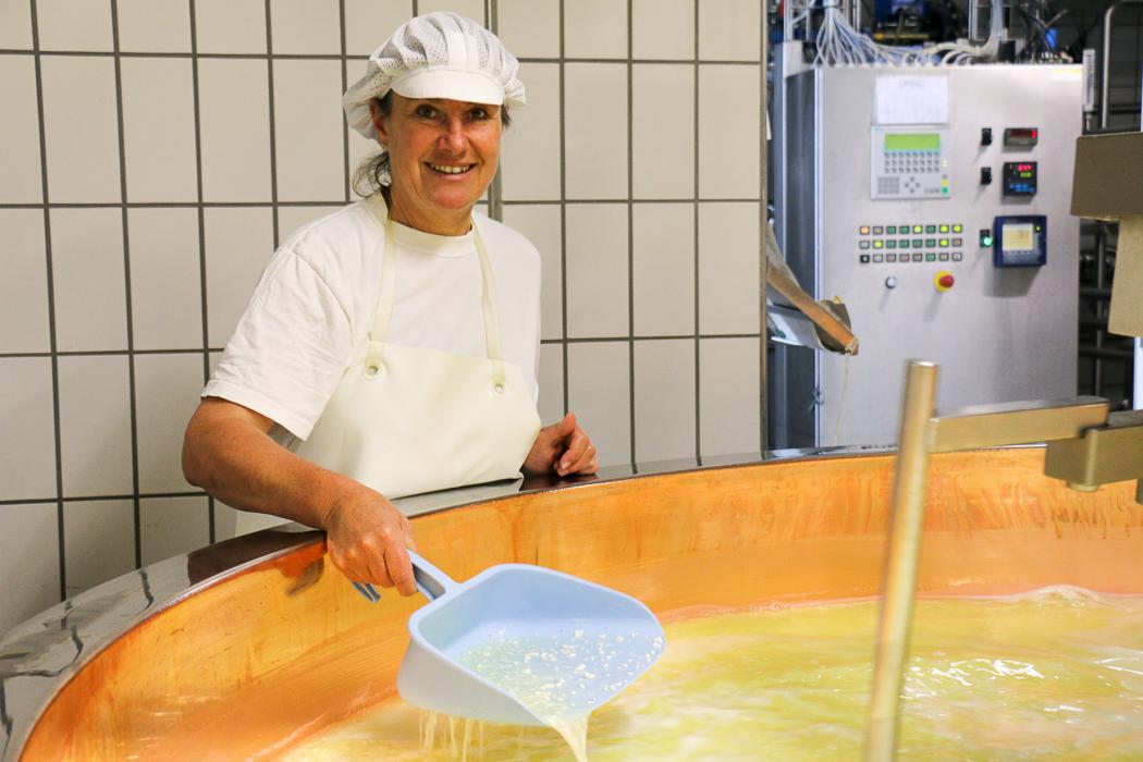 Evelyn Wild von der Käsküche Allgau