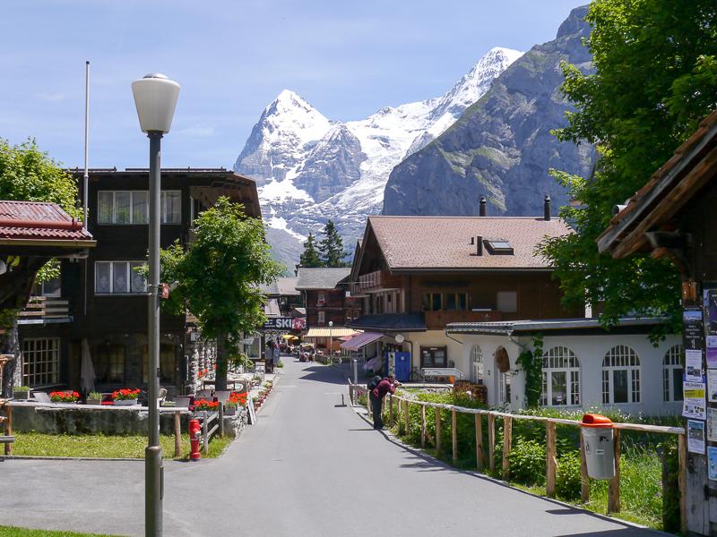 Mürren Dorf