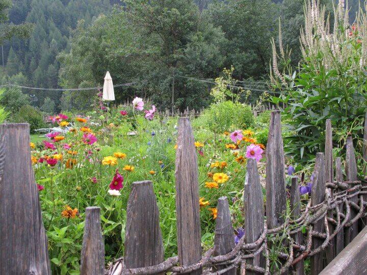Lüsnerhof Garten