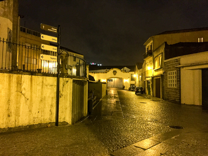 vila nova de gaia bei Nacht