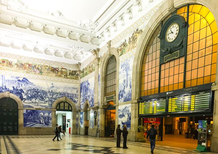 Bahnhof Porto