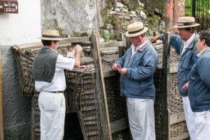 Madeira Korbschlitten