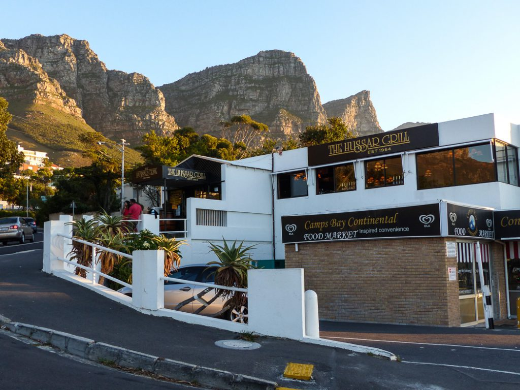 The Hussar Grill in Camps Bay