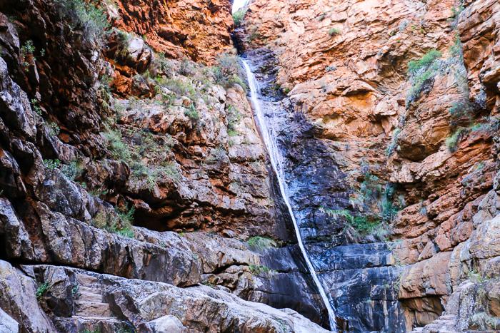 Wasserfall in der Meiringspoort-Schlucht