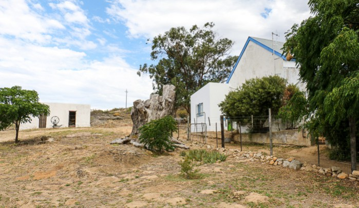 Huis van Chevallerie auf der Nuwedam Farm im Swartland