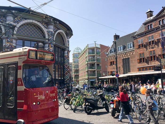 Zentrum von Den Haag