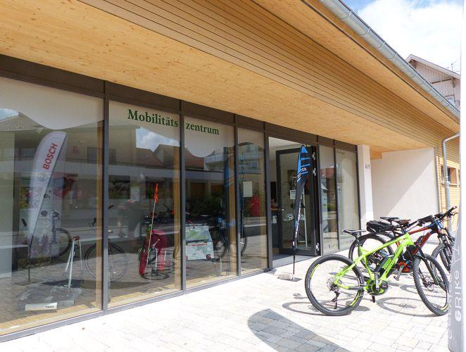 Mobilitätszentrum in Münsingen