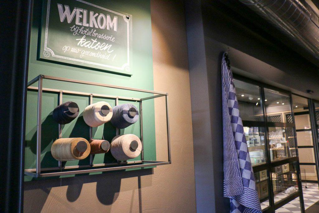 Design-Hotel Katoen in Goes (Zeeland)