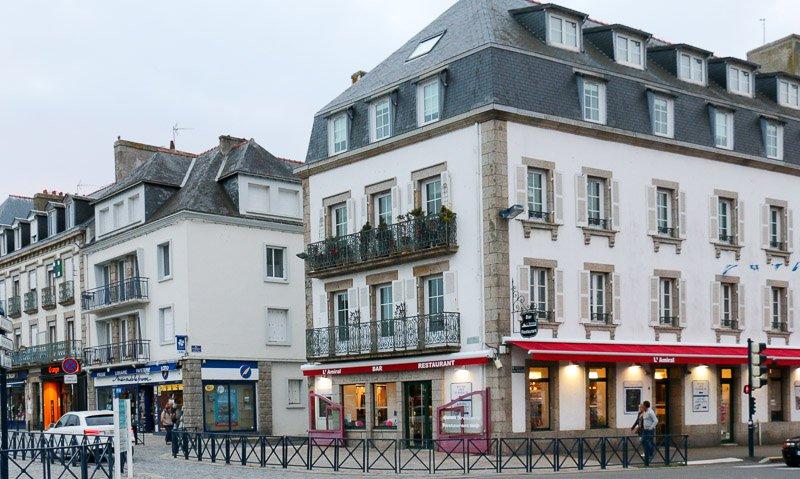 Das L'Amiral, Dupins Lieblingsrestaurant