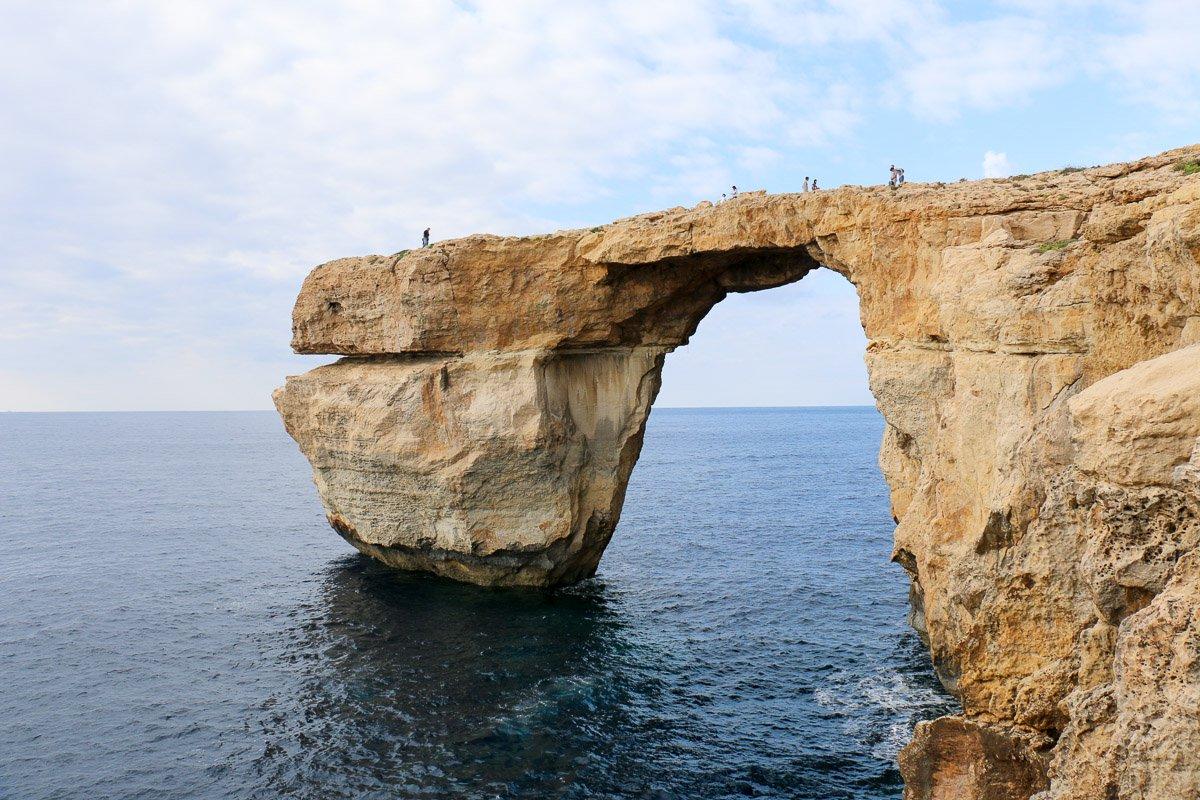 Azure Window, das Blaue Fenster auf Gozo.