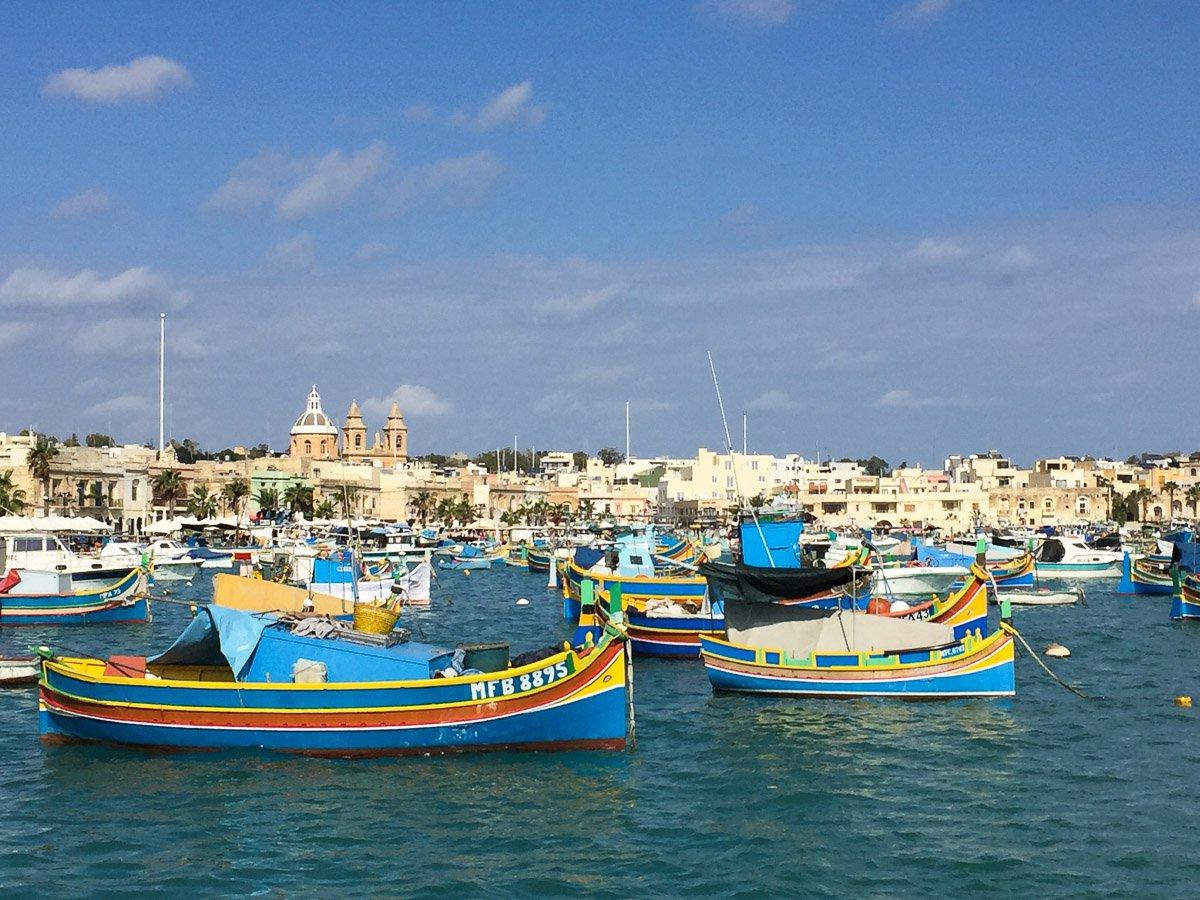 Hafen von Marsaxlokk