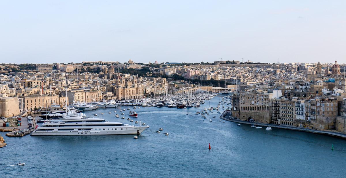 Hafen von Valletta, Malta