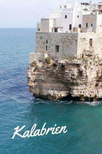 Polignano a mare in #Kalabrien #Italien