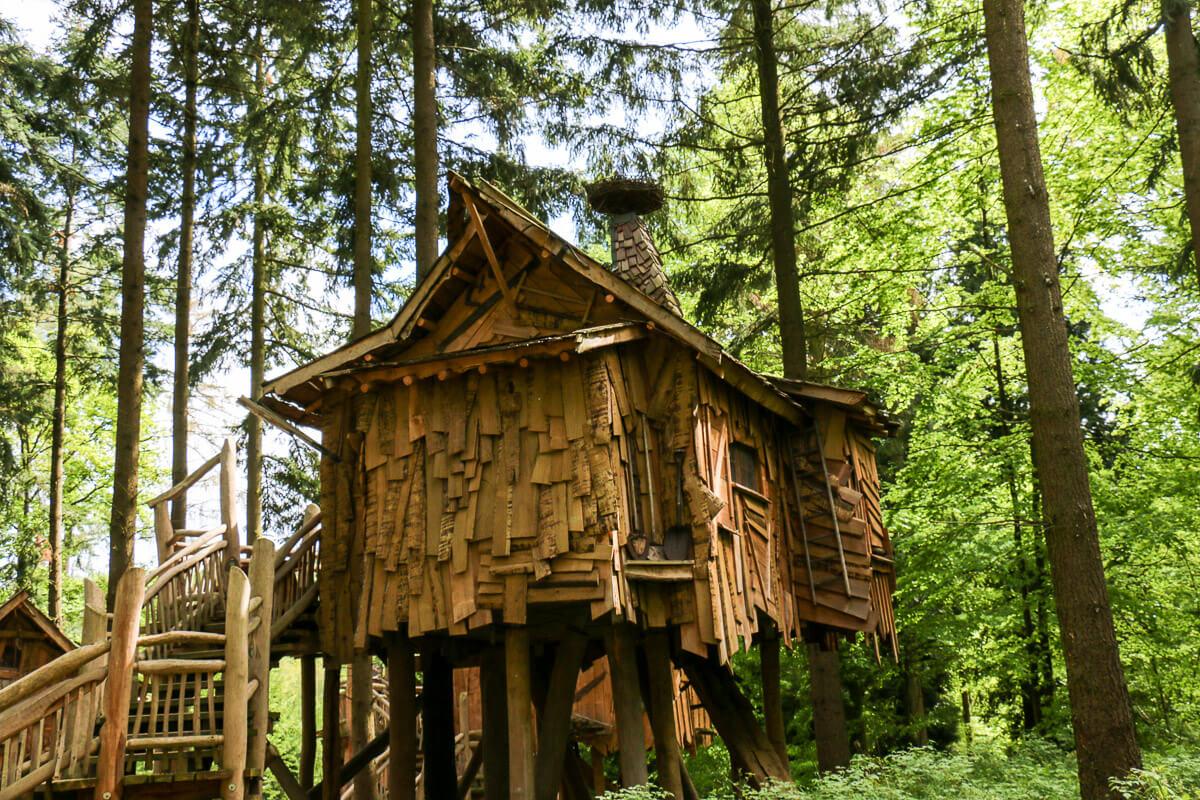Baumhäuser im Wildparadies, Baden-Württemberg