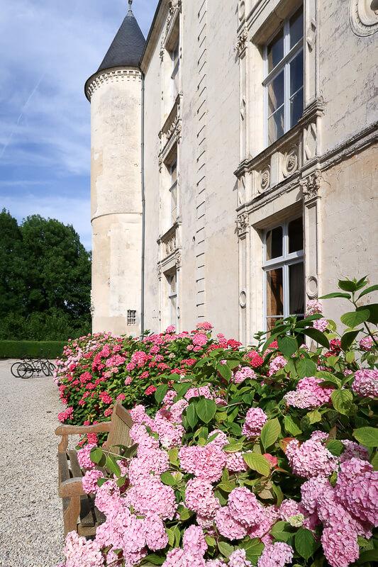 Früher Château, heute Hotel mit Apfel-Spa