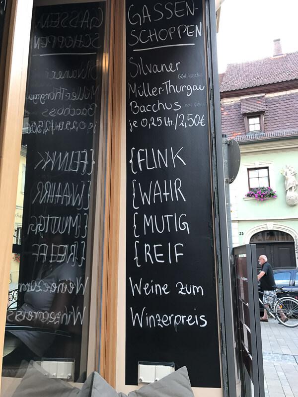 Weinbar Fahr Away
