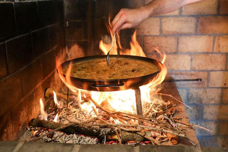 Paella kochen