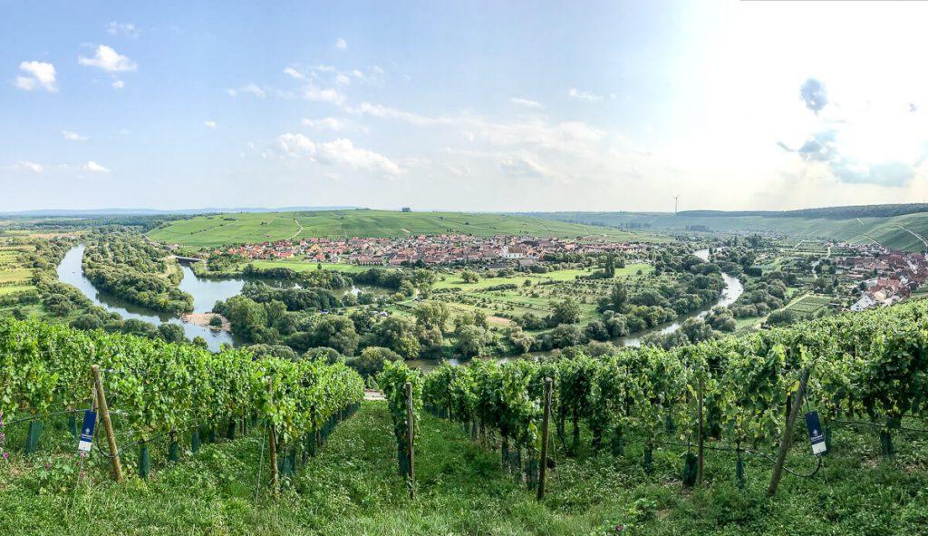 Fränkisches Weinland: Traumtour an der Mainschleife Volkach