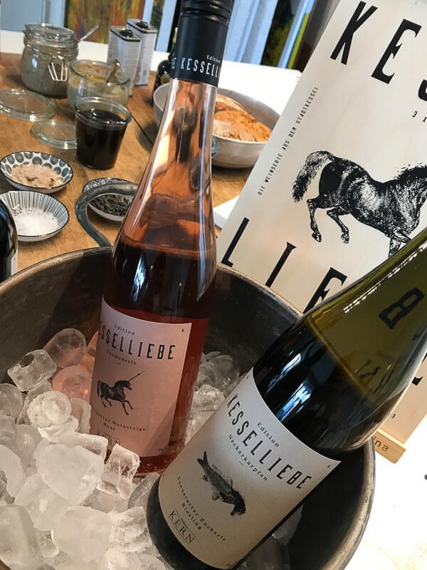 Kesselliebe, die Weinlinie von Christoph Kern