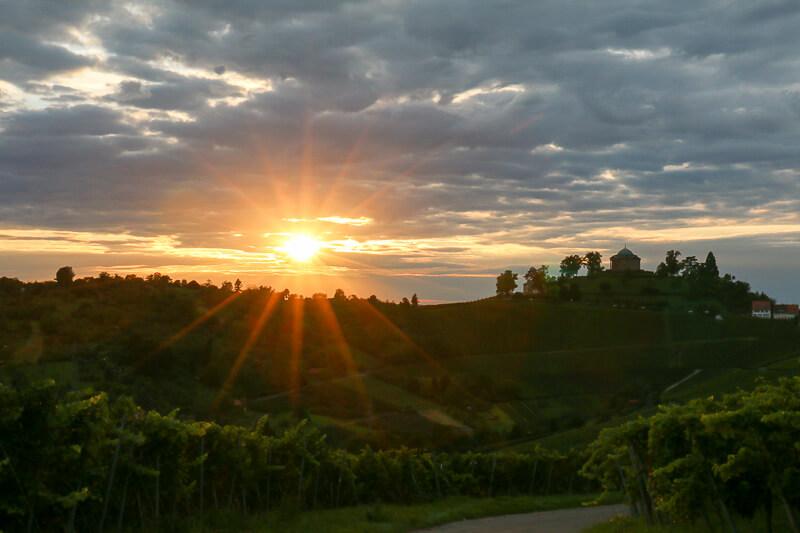 Sonnenuntergang am Wirtemberg