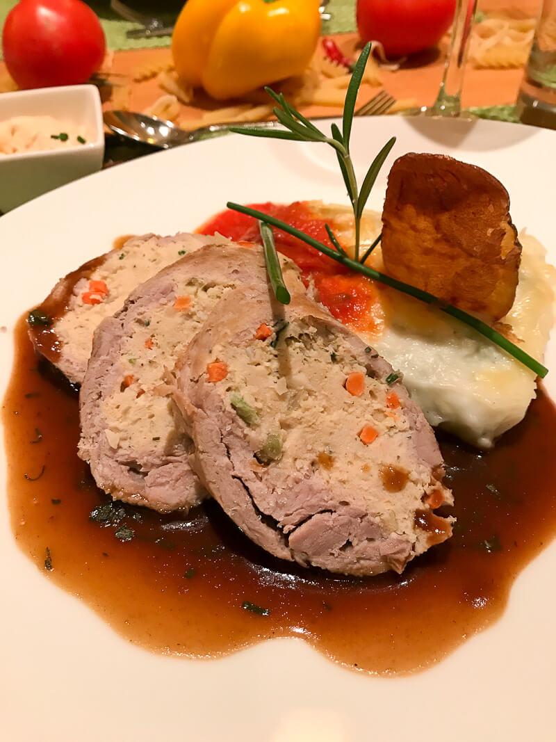 Dinner auf der A-Rosa Silva