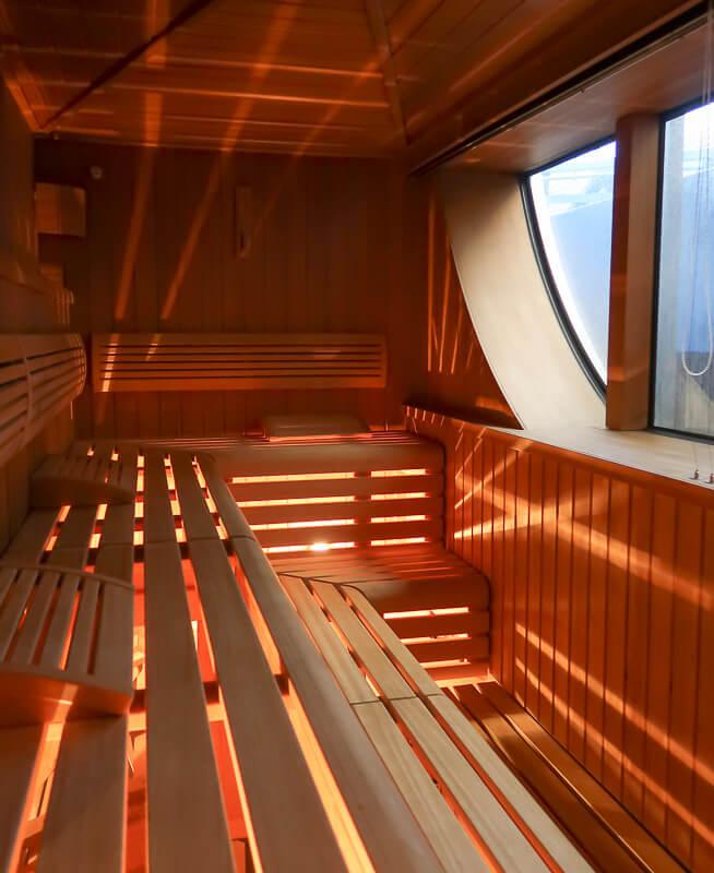 Sauna auf der A-Rosa