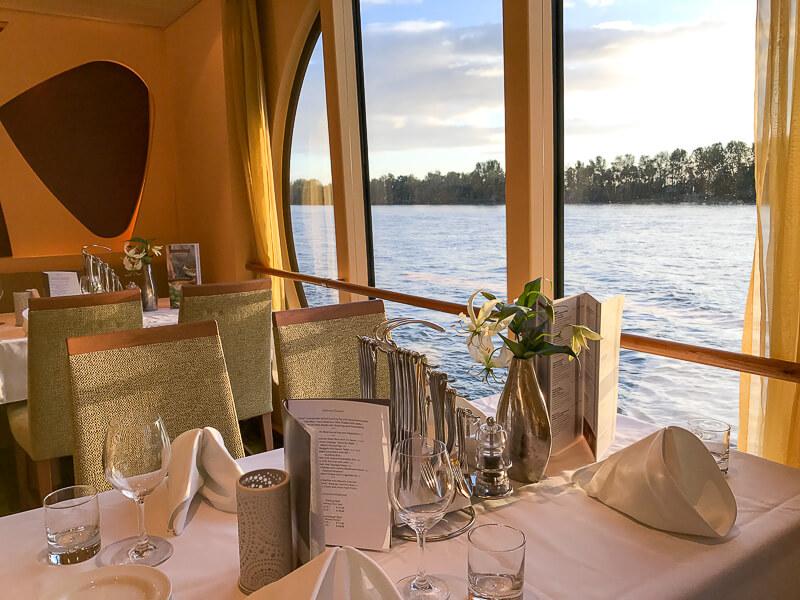Restaurant Flusskreuzfahrt