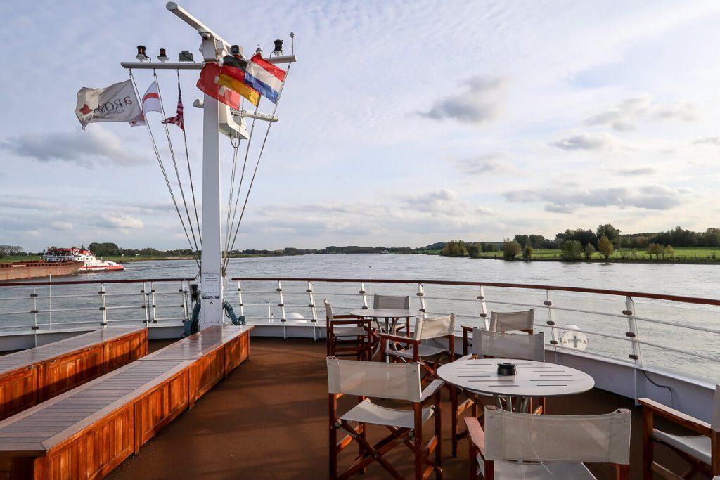 Rhein-Flusskreuzfahrt mit der A-Rosa: Kurs Amsterdam