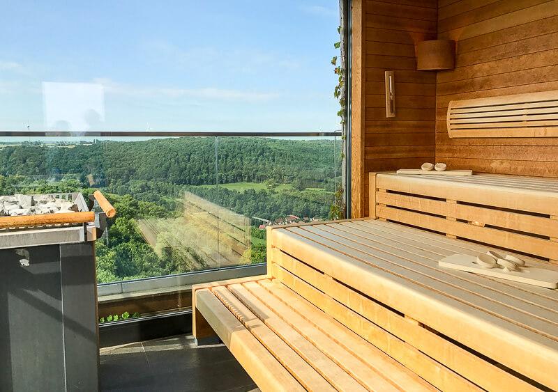 Sauna im Turm