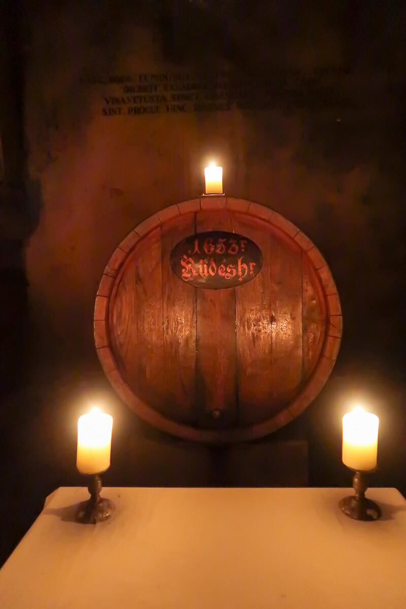 Rarität im Bremer Ratskeller: ein Wein aus dem Jahr 1653