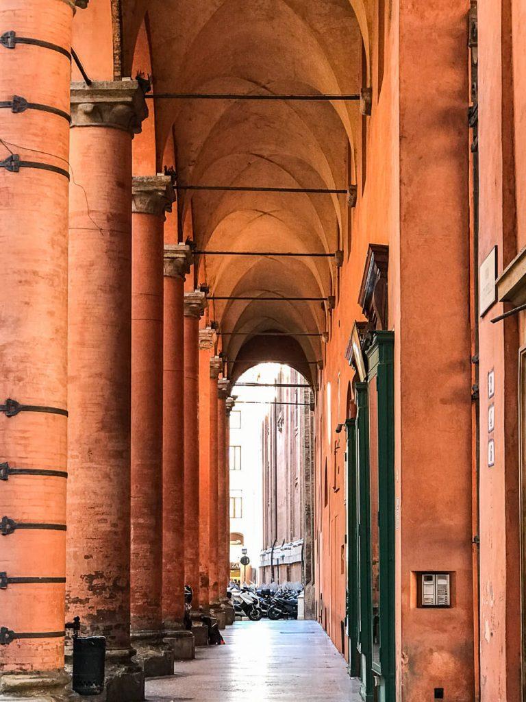 Lauben in Bologna