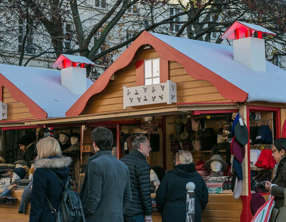 Weihnachtsmarkt in St Germain de Pres