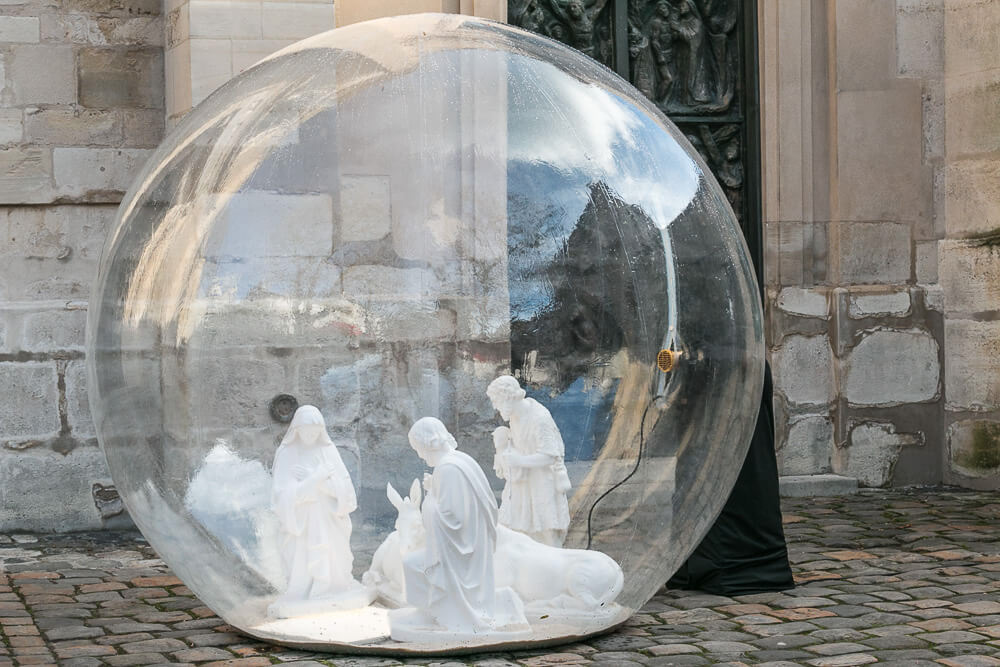 Montmartre, Weihnachten